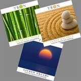 Pakke med musikkCDer CD 2 , 4 og 7