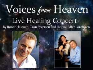 Voices from Heaven konsert, lydhealing og meditasjon